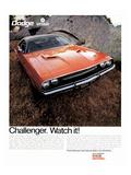 1970 Dodge Challenger-Watch It!