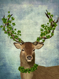 Green King Reproduction d'art par Fab Funky
