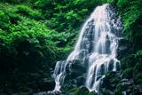 Ethereal Fairy Falls  Columbia River Gorge  Oregon