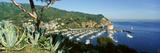 Casino Building and Avalon Harbor  Avalon  Catalina Island  California