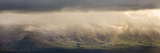 Sunrise Light Shines on the Cardona River Valley in the Otago Region Papier Photo par Michael Melford