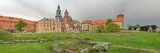 View of the Wawel Castle with the Wawel Cathedral  Krakow  Poland