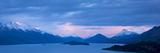 Sunrise Above Lake Wakatipu Papier Photo par Michael Melford