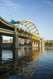 Pittsburgh's Fort Pitt Bridge over the Monongahela River
