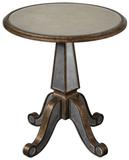 Eraman Mirrored Accent Table