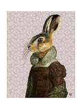 Madam Hare Reproduction d'art par Fab Funky