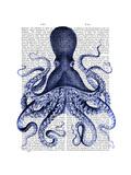 Blue Octopus 3