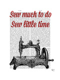 Sew Little Time Illustration