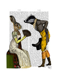 Look of Love Regency Badger and Hare Couple