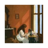 Girl at a Sewing Machine, c.1921 Giclée premium par Edward Hopper