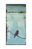 Bird Window I Reproduction d'art par Ingrid Blixt