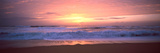 Sunset over the Beach  Morbihan  Brittany  France