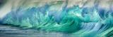 Wave Photo at Papohaku Beach  West End  Molokai  Hawaii