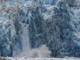 South Sawyer Glacier Calving into Tracy Arm Fjord