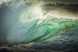 Wave Photo at Papohaku Beach  West End  Molokai  Hawaii