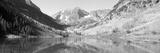 Aspens and Morning Light  Maroon Bells Near Aspen  Colorado