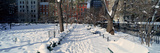 Panoramic View of Historic Homes and Gramercy Park
