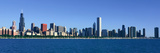 Panoramic View of Chicago Harbor  Chicago  Il