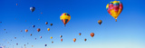 Hot Air Balloons Floating in Sky