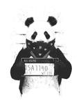 Bad Panda Reproduction d'art par Balazs Solti