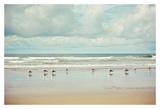 Beachcombing Reproduction d'art par Irene Suchocki