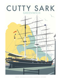Cutty Sark - Dave Thompson Contemporary Travel Print