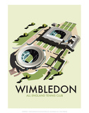 Wimbledon - Dave Thompson Contemporary Travel Print