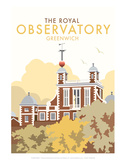 Royal Observatory - Dave Thompson Contemporary Travel Print