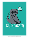 Grumposaur - David & Goliath Print