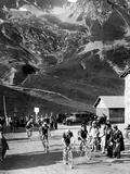 Tour De France 1929  15th Leg Grenoble/Evian (Alps) on July 20: Antonin Magne Ahead