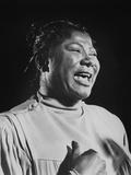 Mahalia Jackson (1911-1972) American Singer of Gospel Et Negro Spirituals  C 1960