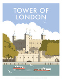 Tower of London - Dave Thompson Contemporary Travel Print
