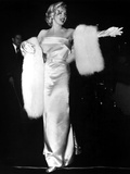 "Marilyn Monroe at Premiere of Film ""Call Me Madam"" on March 4  1953"