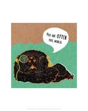 Otter - Abigail Gartland Art Print