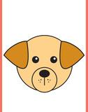 Dog - Animaru Cartoon Animal Print
