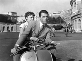 Vacances Romaines Roman Holiday De William Wyler Avec Gregory Peck Et Audrey Hepburn 1953