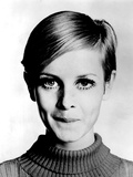 The Model Twiggy in 1967 Reproduction d'art