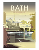 Bath - Dave Thompson Contemporary Travel Print