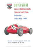 12th International Trophy Meeting - Silverstone Vintage Print