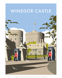 Windsor Castle - Dave Thompson Contemporary Travel Print