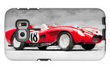 1957 Ferrari Testarossa Watercolor