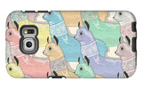 Seamless Pattern with Cute Lamas or Alpacas for Children or Kids