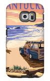 Nantucket  Massachusetts - Woody on Beach