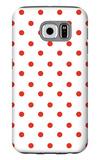 Red Polk-a-dots