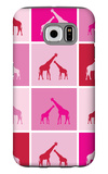 Pink Giraffe Squares