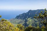 Kalalau Valley  Napali Coast State Park Kauai  Hawaii  United States of America  Pacific