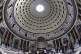 Interior Church of St Mary of the Martyrs and Cupola Inside the Pantheon
