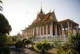 The Silver Pagoda  Royal Palace  Phnom Penh  Cambodia  Indochina  Southeast Asia  Asia