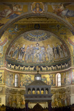 Mosaics Inside the Church of Santa Maria in Trastevere