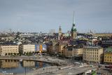 Skyline of Stockholm  Sweden  Scandinavia  Europe